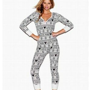 Vs Pink Sleep Onsie